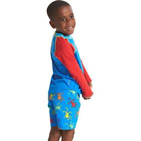 Zoggs Octopus Fever - Camiseta manga corta Niños - rojo/azul